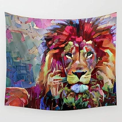 Amazon com: KRWHTS Animal Tapestry Safari Decor