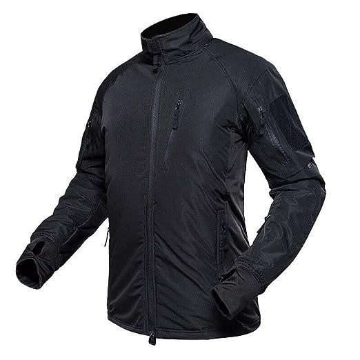 Amazon.com: Waterproof Military Tactical Jacket Men Warm ...