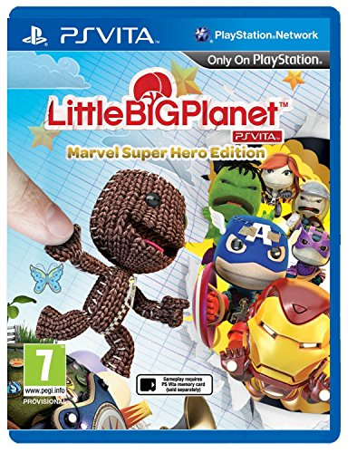 LittleBigPlanet: Marvel Super Hero Edition [PlayStation Vita, PSVita] by Sony