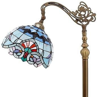 Tiffany Style - Lámpara de pie de lectura para dormitorio ...