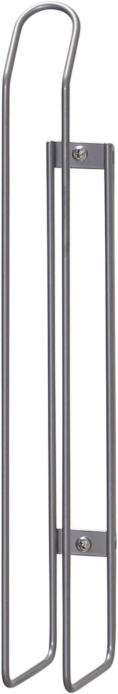 Mounts to Solid Cabinet Doors or Walls Household Essentials 1229-1 Tall Basket Door Mount Cabinet Organizer