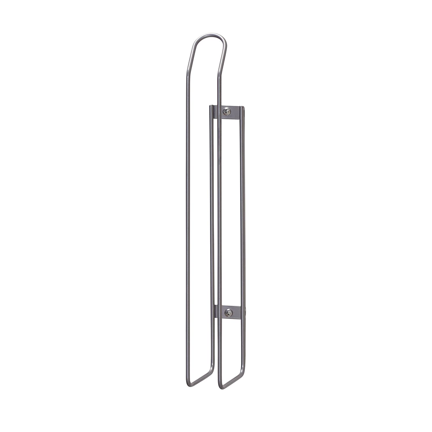 Household Essentials 1225-1 Mounted Paper Towel Holder | Mounts to Solid Cabinet Doors or Walls