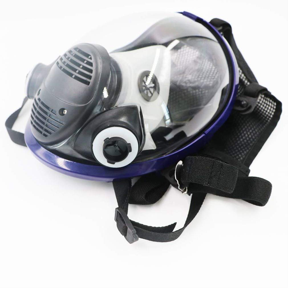 REBUNE 7 In 1 Set Full Face Gas Mask Full Facepiece Respirator For Painting Spraying Protection Tool by REBUNE (Image #4)