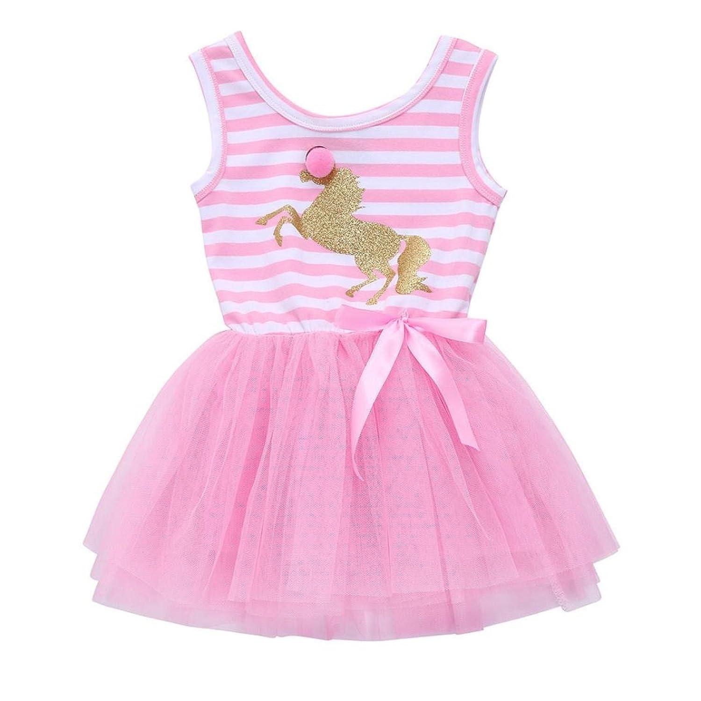 Faldas de Tul Cortas, Zolimx Niños Pequeños Bebé Niñas Unicornio ...