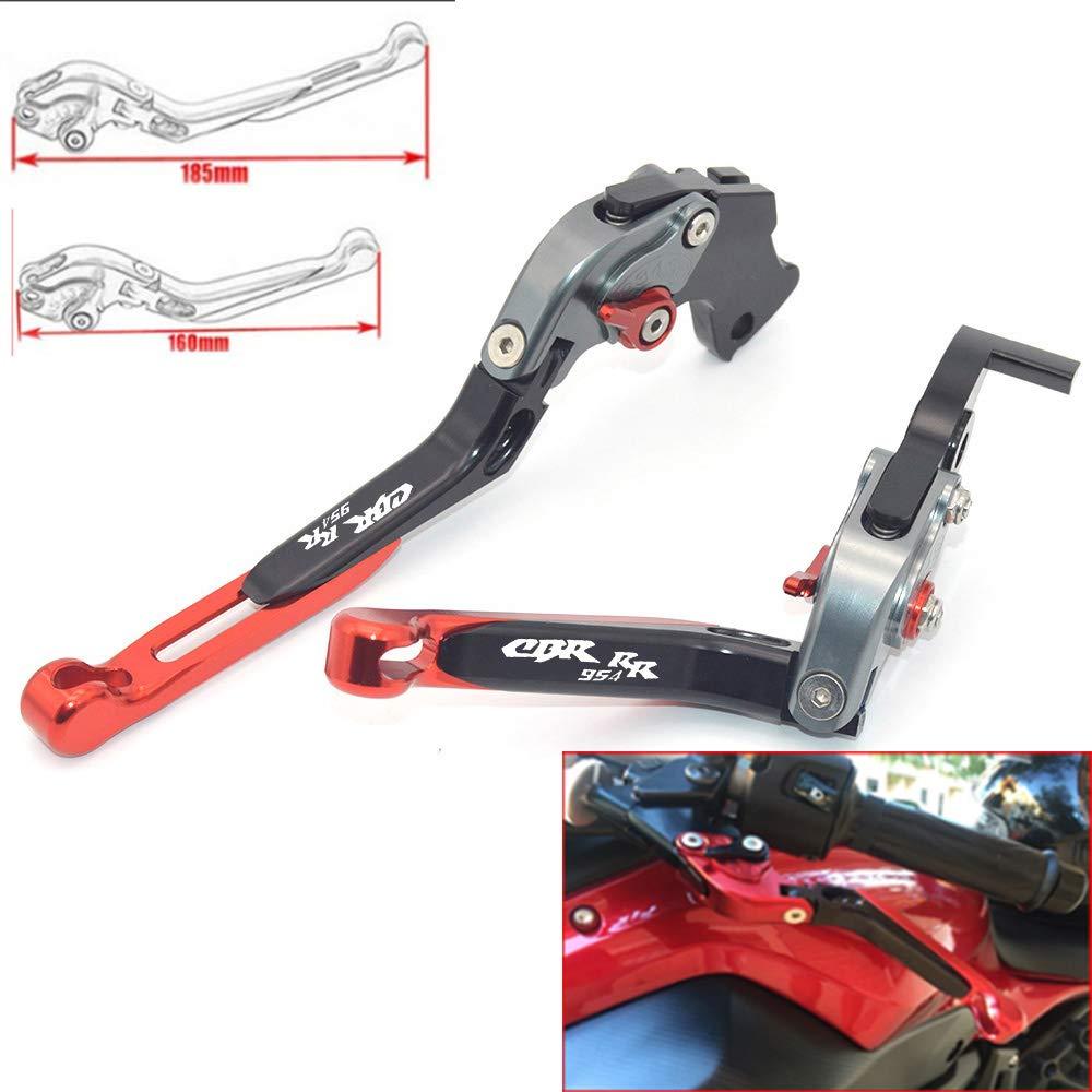 CNC extensible pliable R/églage de La moto leviers de frein dembrayage pour Honda Cbr954rr 2002/2003