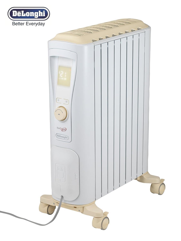 DeLonghi(デロンギ) オイルヒーター ベルカルド RHJ75V0815 10~13畳用 クリームベージュ B01M1069BV