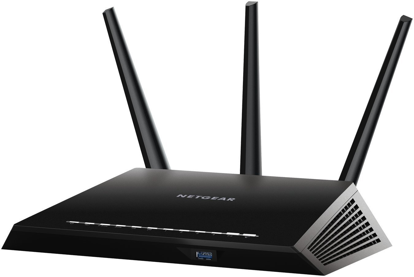 NETGEAR Nighthawk AC1900 Smart WiFi Router - Dual Band Gigabit (R6900-100NAS) (Renewed) by NETGEAR