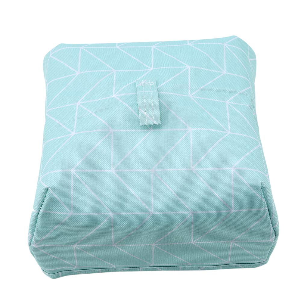 EH-LIFE Food Cover Keep Warm Foldable Aluminum Foil Vegetable Cover Dishes Kitchen Dust-proof Insulation Cover Small Blue Rectangle 1#
