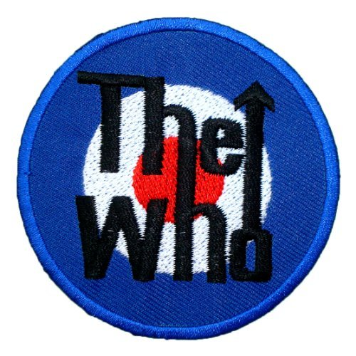 The Who rock group Band t Shirts Symbol MT04 Iron on Patches (Rock Band Iron On Transfers For T Shirts)