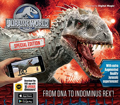 Jurassic World Special Edition  From Dna To Indominus Rex   Iexplore