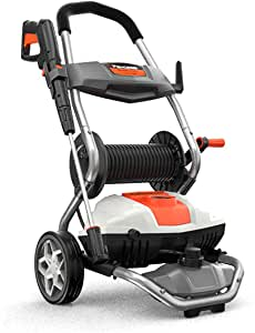 PAXCESS Pressure Washer, Electric 1800W 1.76GPM High Power Washer Machine with On-Board Hose Reel, Adjustable Nozzle, Detergent Tank for Car/Driveway/Fence/Sidewalk/Patio Furniture/Deck Cleaning