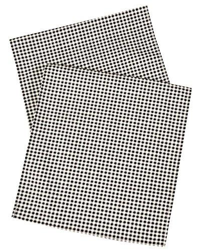 (Table Runner Table Cloth Runner Black & White Tablecloth Alternative Checkered Gingham 72