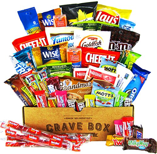 The Deluxe CraveBox 50 count