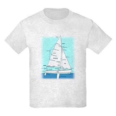 amazon com cafepress sailboat diagram (technical design) kids 420 Sailboat Detailed Diagram cafepress sailboat diagram (technical design) kids light t s kids cotton t shirt white