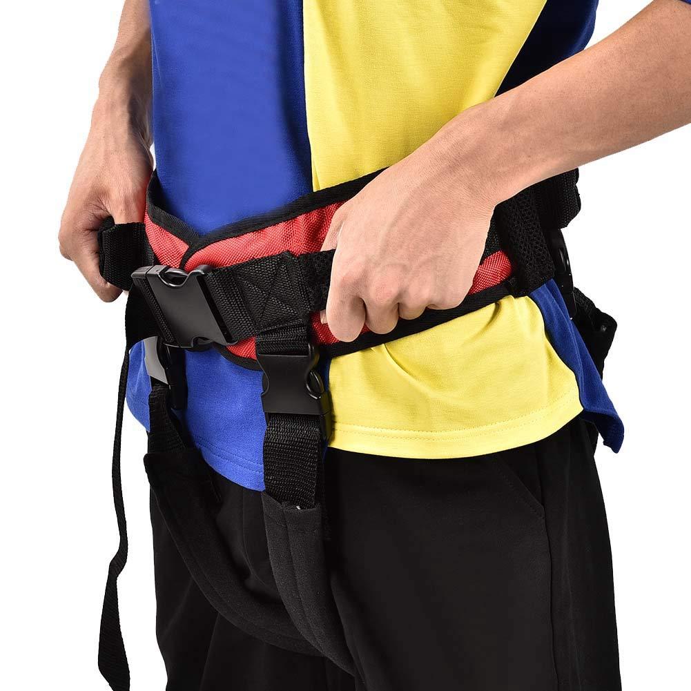 Training belt for rehabilitation, Transfer belt with belt loop, Auxiliary rehabilitation belt, Walking rehabilitation belt for leg rehabilitation(L) by TMISHION (Image #7)