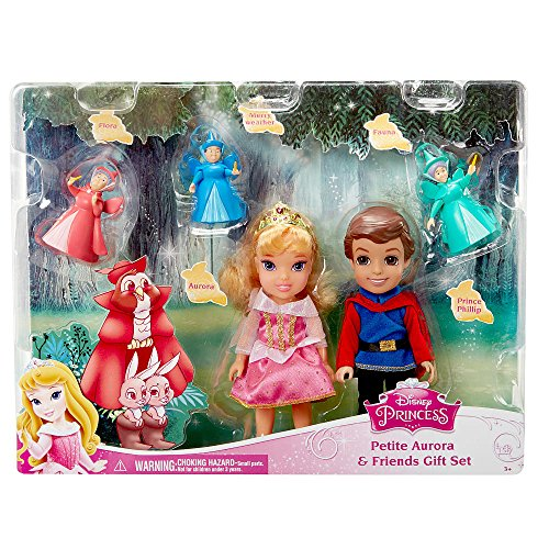 [Disney Princess Petite Princess Fairytale Gift Set - Sleeping Beauty] (Disney Toddler Princess)