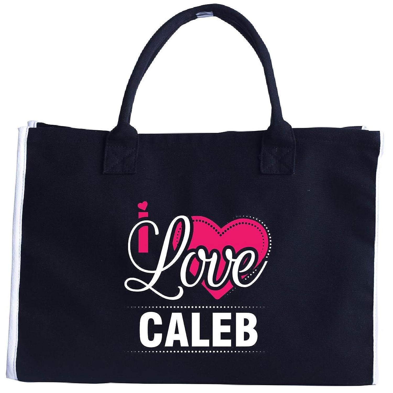 I Love Caleb - Cool Gift For Caleb From Girlfriend - Tote Bag