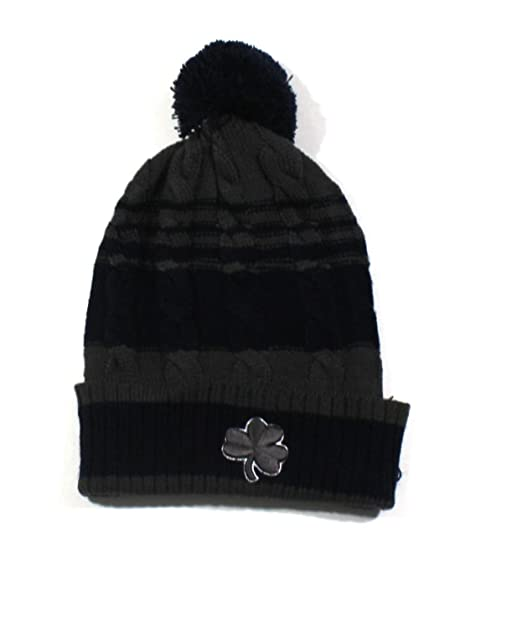 5033425546f Image Unavailable. Image not available for. Color  Campus Lifestyle Boys  Knit Tassel Hat - Notre Dame ...