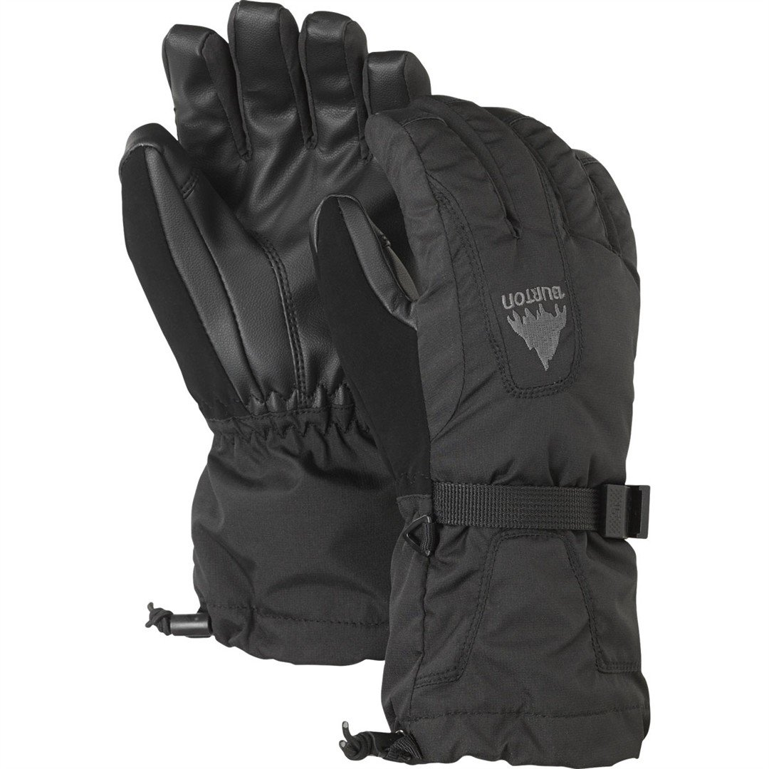 Burton Youth Gore-Tex Gloves - True Black - X-Large