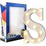 DON LETRA Letras del Alfabeto A-Z con Luces LED, Letras Luminosas Decorativas con Luces LED, 11 Bombillas de LED, 2…