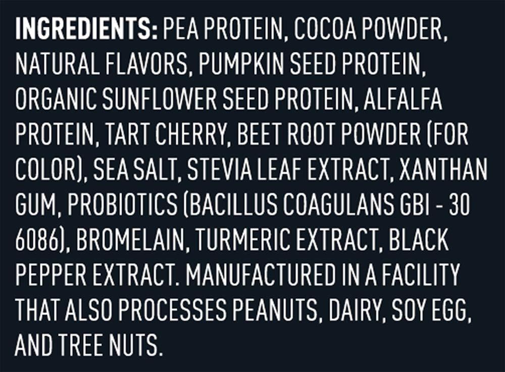 Vega Sport Protein Powder Chocolate (45 Servings, 4 lb 5.9oz) - Plant Based Vegan Protein Powder, BCAAs, Amino Acid, Tart Cherry, Non Dairy, Gluten Free, Non GMO (Packaging May Vary) by Vega (Image #3)