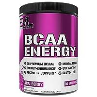 Evlution Nutrition BCAA Energy - Essential BCAA Amino Acids, Vitamin C, Natural...