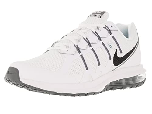 f2c76a755af2 Men s Nike Air Max Dynasty Running Shoe White Cool Grey Black Size 12 M US   Buy Online at Low Prices in India - Amazon.in