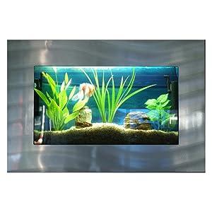 Bayshore Aquarium Rectangular Silver