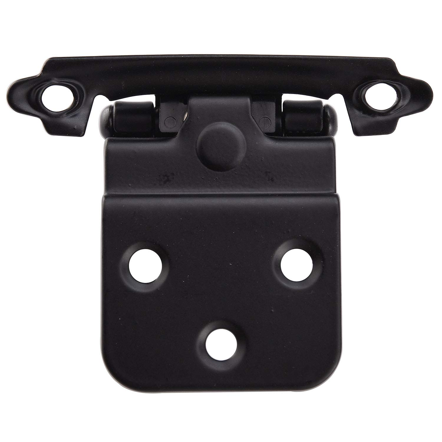 KINGO HOME Face Mount Self Closing Black 3/8'' Inset Cabinet Hinges, 20 Pack by KINGO HOME (Image #5)
