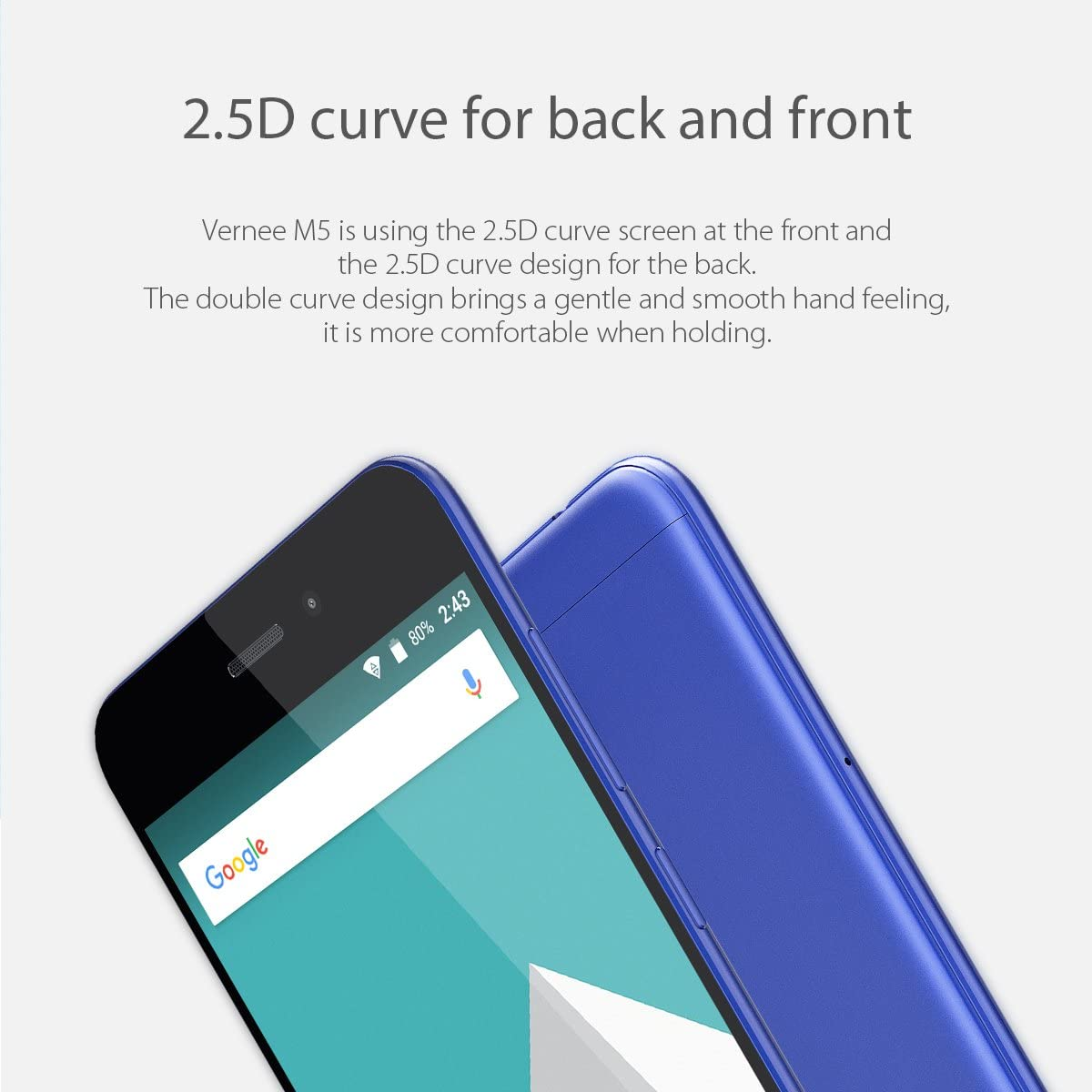 Vernee M5 4G Android 7.0 Smartphone Libre,Pantalla IPS de 5,2 ...