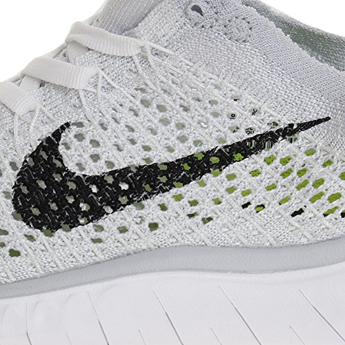 de Pure Multicolore Chaussures Platinum Flyknit Free Femme RN White Black Running Nike 2018 001 FXPqR