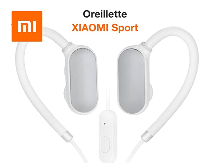 Xiaomi Wireless Sports Auriculares Bluetooth In-Ear Auriculares estéreo Earbuds con Mic y Sweatproof para
