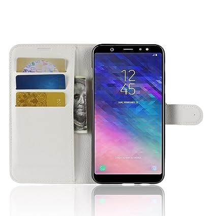 Xifan Samsung Galaxy A6 Plus 2018 Wallet Case Premium