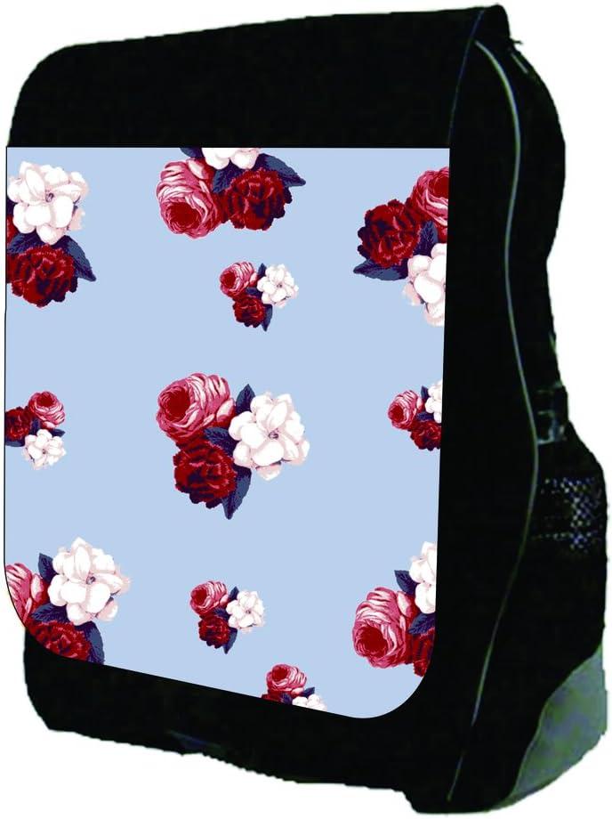Vintage Roses Pattern TM School Backpack