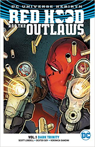Amazon com: Red Hood and the Outlaws Vol  1: Dark Trinity (Rebirth
