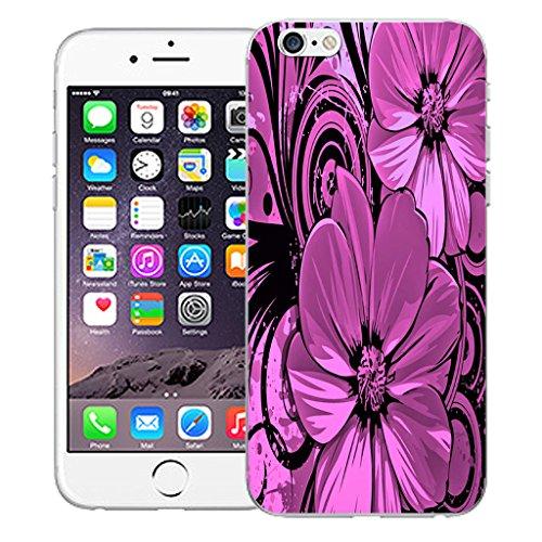 "Mobile Case Mate iPhone 6S 4.7"" Silicone Coque couverture case cover Pare-chocs + STYLET - Prestine pattern (SILICON)"