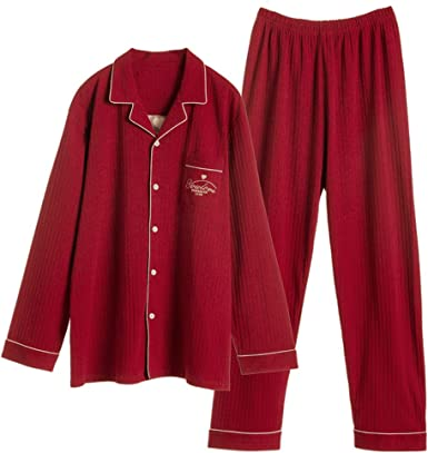 Conjunto de Pijama de Invierno para Mujer, Pijama Suave de algodón ...