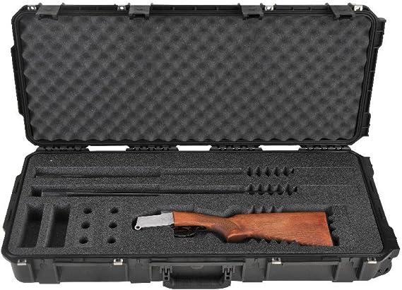 SKB 3i-3614-CB Injection-Molded Custom Breakdown Shotgun Case