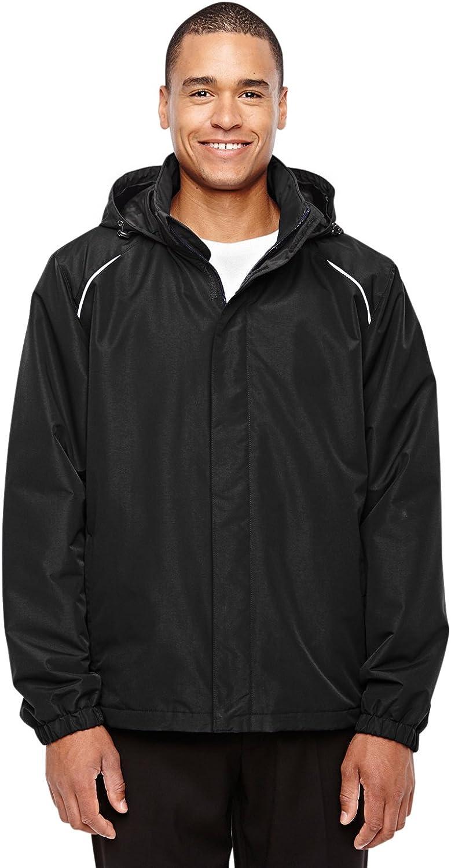 Core 365 Mens Profile Fleece-Lined All-Season Jacket Ash City