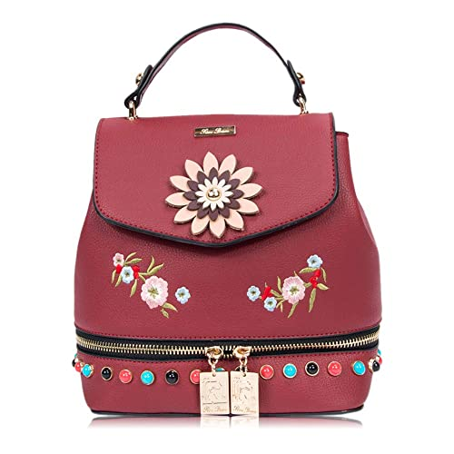 RenDian Women s Mini Cute Fashion Backpack Purse Anti Theft Leather  Shoulder Bags da0917ac99646