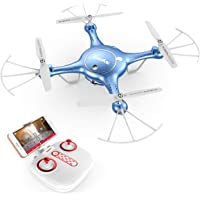 Syma X5UW FPV RC Drone with 720P HD Wi-Fi Camera Live Video Training Quadcopter for Beginners