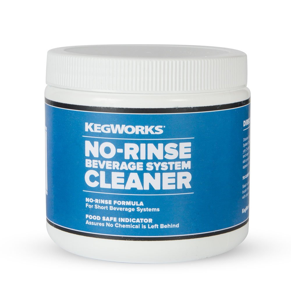 KegWorks 70031 No-Rinse Beverage System Cleaner, 16 oz