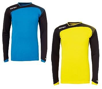 Kempa Aspire portero sudadera-camiseta de balonmano para niños & para hombre, color Azul