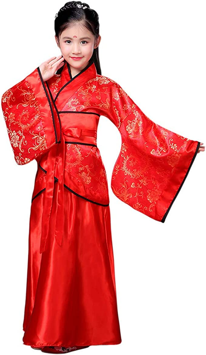 Meijunter Chinese Ancient Women Hanfu Traditional Costume Tang Suit Stage Dress