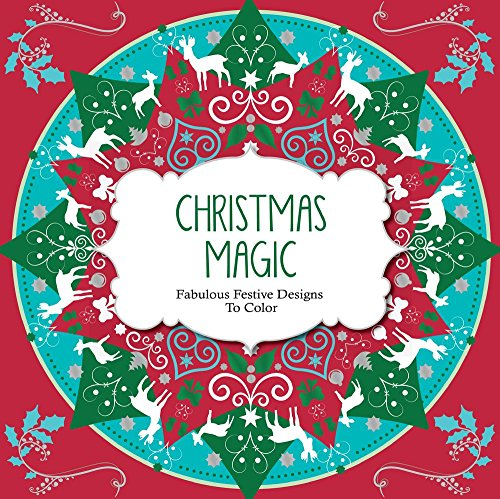 Christmas Magic: Festive Designs to Color