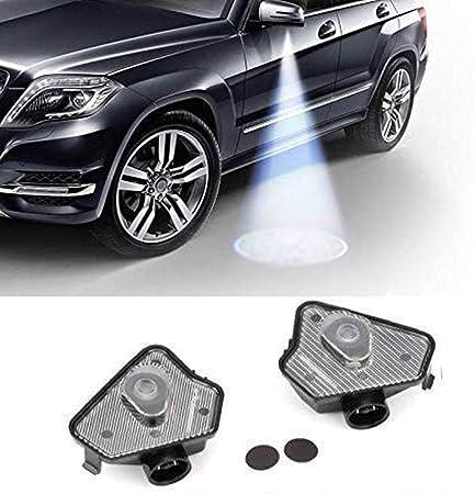 Sunshine Fly 2 Stücke Led Seite Unter Spiegel Projektor Geist Logo Willkommen Ambient Auto Lampe Ersatz Rücklicht Zubehör Auto
