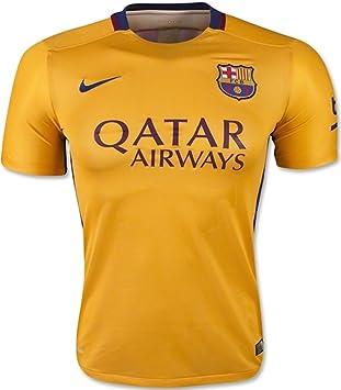 Nike Barcelona 2015-16 Away Men Football Soccer Authentic Match Jersey Shirt  739659-740 5ba3f00bdc5