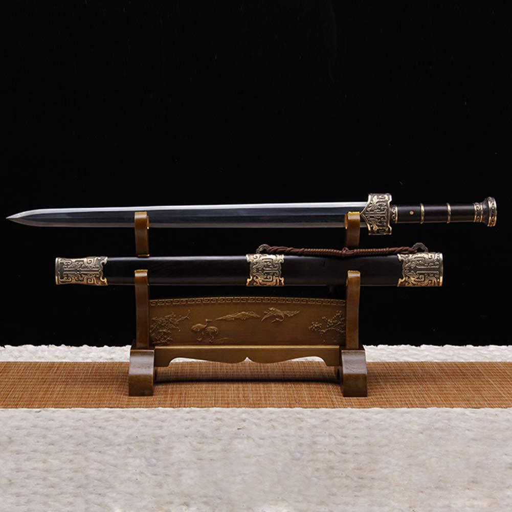 Fcyylight Schwerthalterung Wandhalterung aus Samurai-Schwert aus Massivem Holz