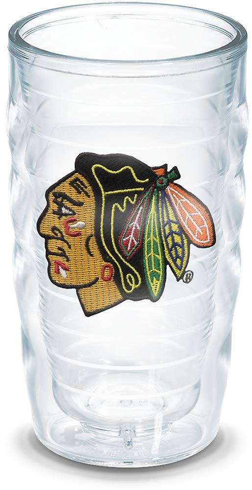 Emblem 10 oz Clear Tervis 1049606NHL Chicago Blackhawks Tumbler