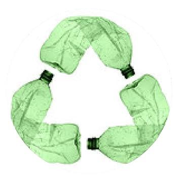 alfombrilla de ratón botellas de plástico reciclado - ronda - 20cm